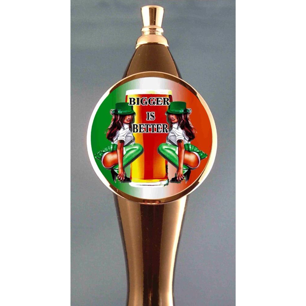 Sexy Irish Girls Beer Tap Handle