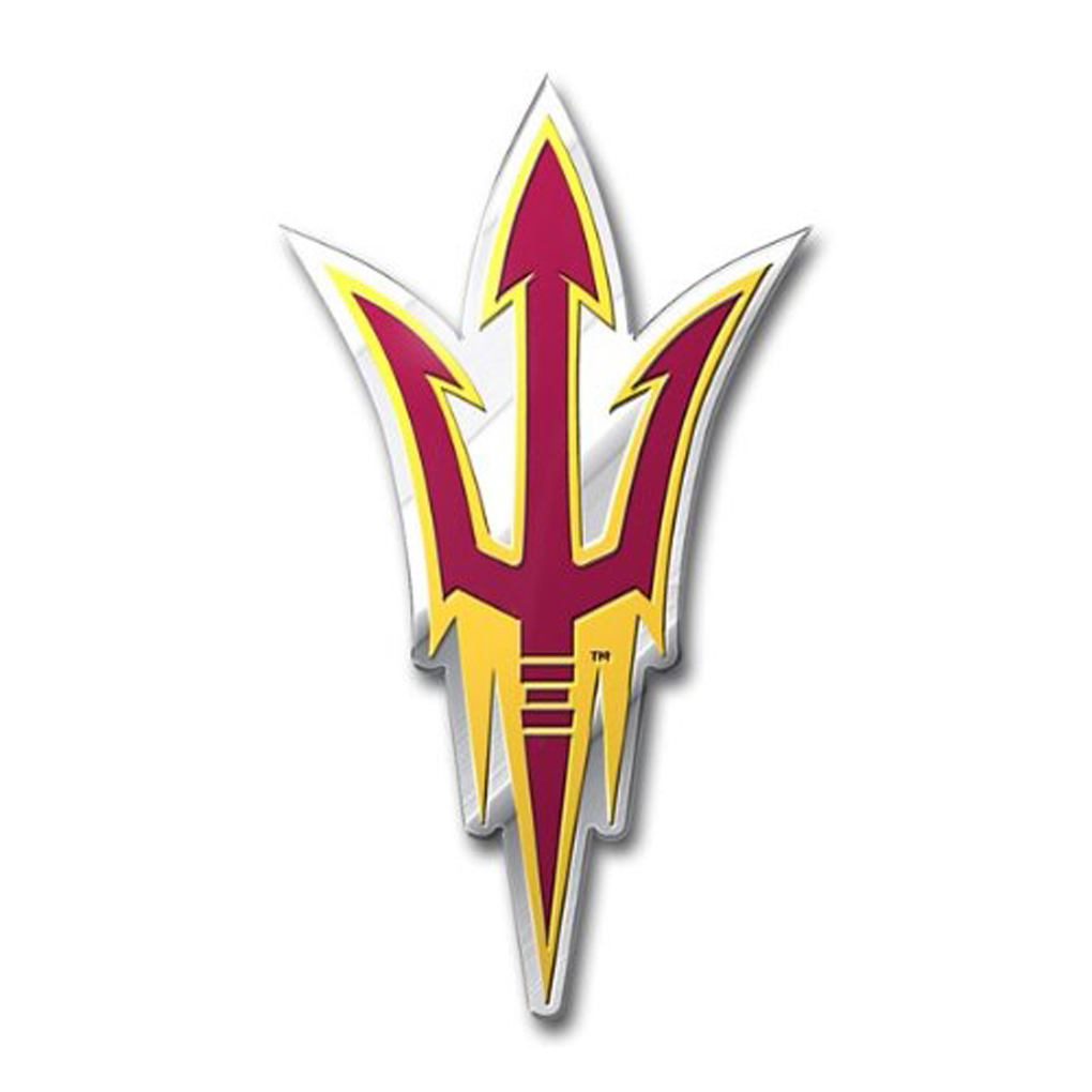 Arizona State Sun Devils Emblem for Beer Tap Handle