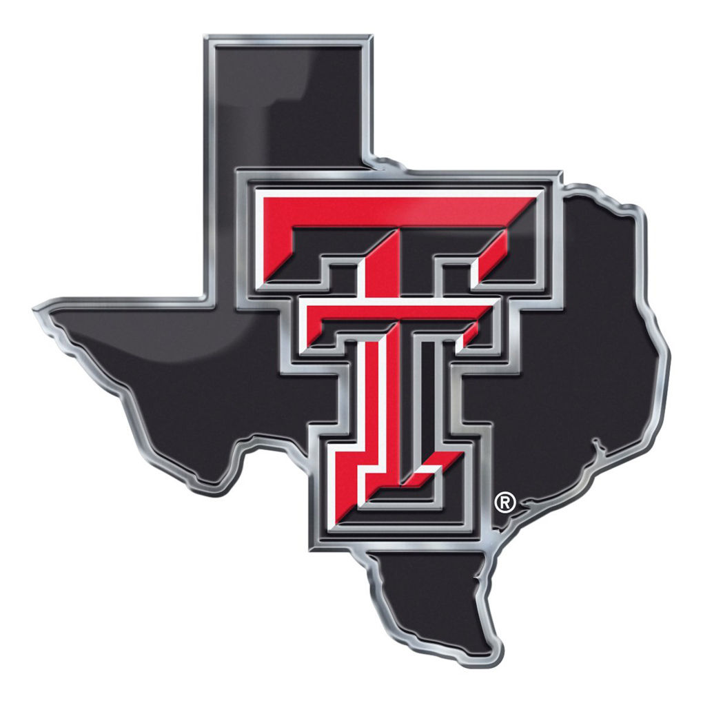 Texas Tech Emblem For Beer Tap Handle