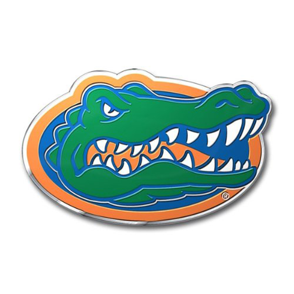 Gators Emblem for Beer Tap Handle