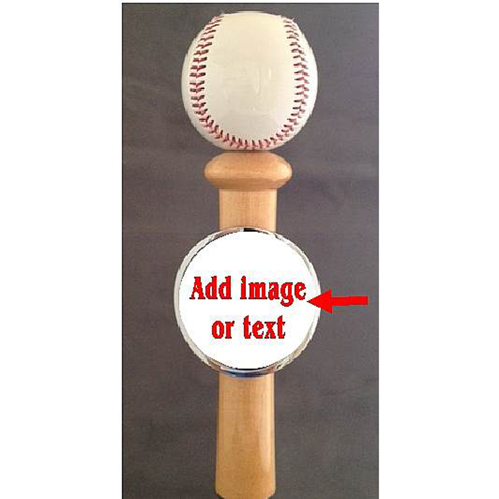 Baseball Themed beer tap handle