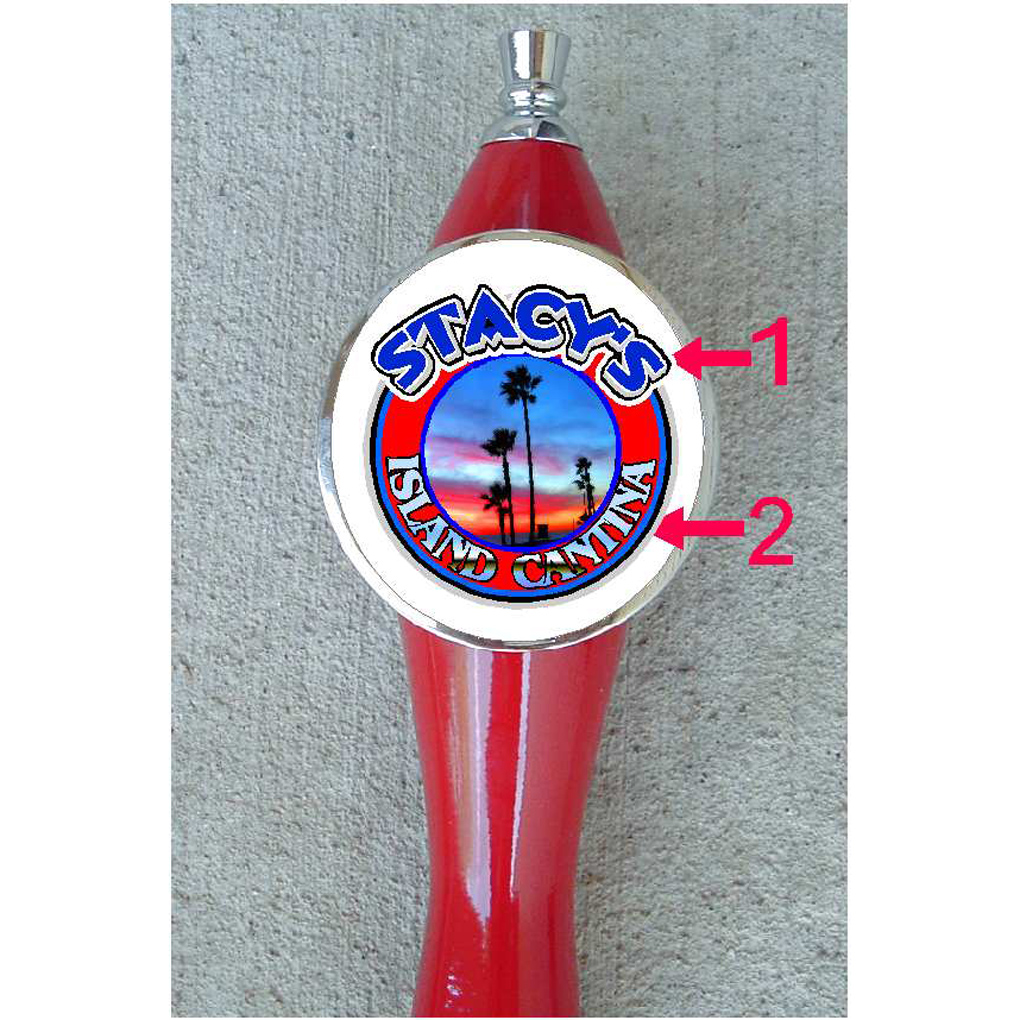 CUSTOM BEER TAP HANDLE WITH YOUR PHOTO