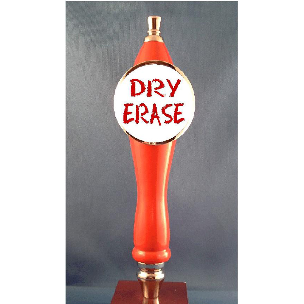 Dry Erase Beer Tap Handle