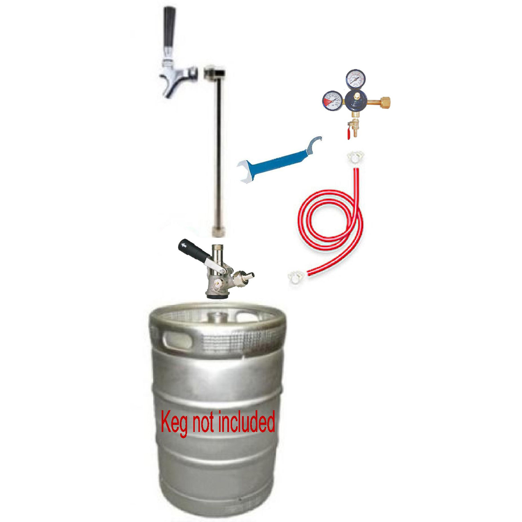 Beer Tap Party Pump Co2 Conversion Kit