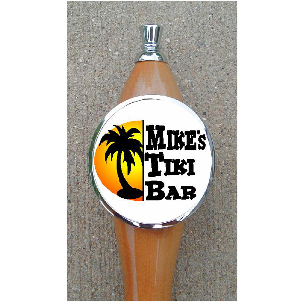 CUSTOM PALM TREE BEER TAP HANDLE