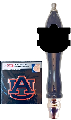 Auburn Beer Tap Handle Kit