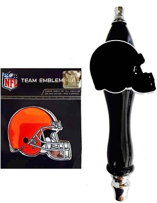 Browns Football Beer Tap Handle Kit