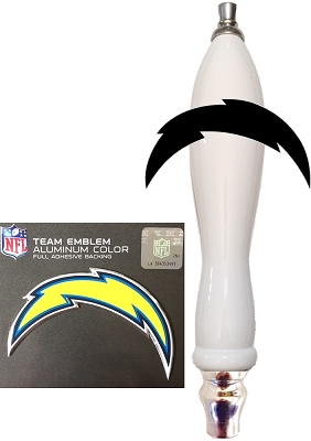Chargers Football Beer Tap Handle Kit