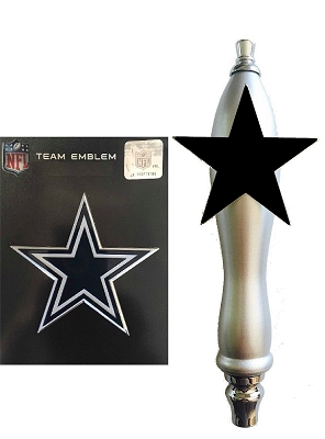 Cowboys Football Beer Tap Handle Kit