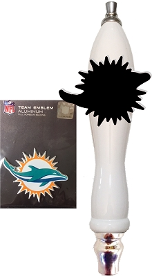 Dolphins Football Beer Tap Handle Kit