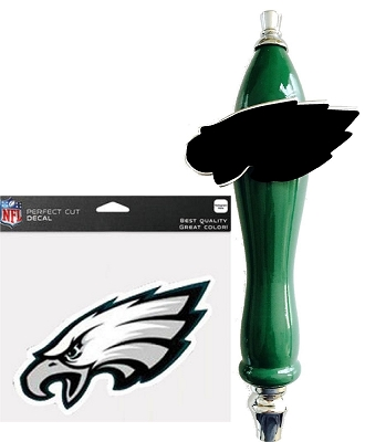 Eagles Football Beer Tap Handle Kit