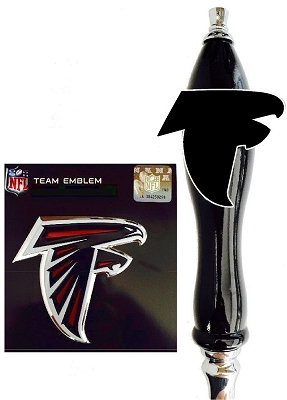 Falcons Football Beer Tap Handle Kit