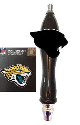 Jaguars Football Beer Tap Handle Kit