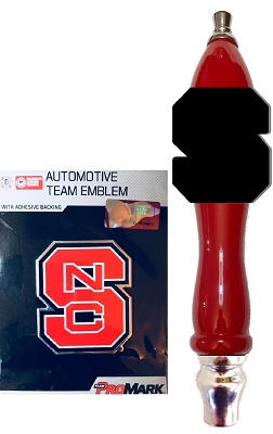 NC State Beer Tap Handle Kit
