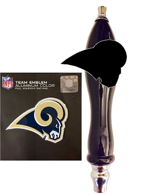 L A Rams Beer Tap Handle Kit