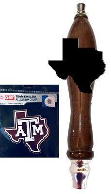 Texas A&M  Beer Tap Handle Kit
