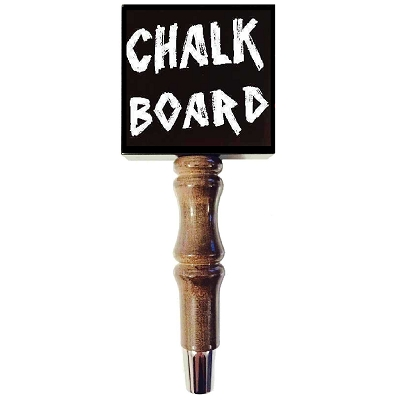 Chalk Board Beer Tap Handle