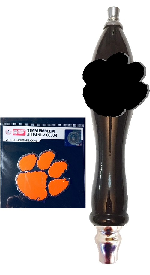 Clemson Beer Tap Handle Kit