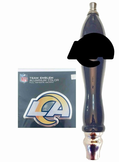 3b2eb856 L A Rams Beer Tap Handle Kit
