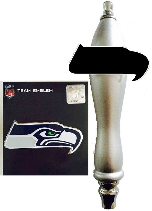 Seahawks Football Beer Tap Handle Kit