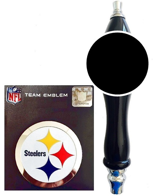 Steelers Football Beer Tap Handle Kit
